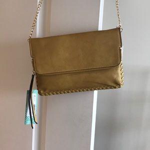 Mustard colored purse